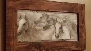 home decor horses rustic home decor horse pic framed horse art wood frame