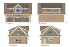 plan 14631rk 3 car garage slab on grade footing and foundation wall detailing