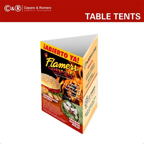 Table Tents by Table Tent Photo Detailed About Table Tent Picture On