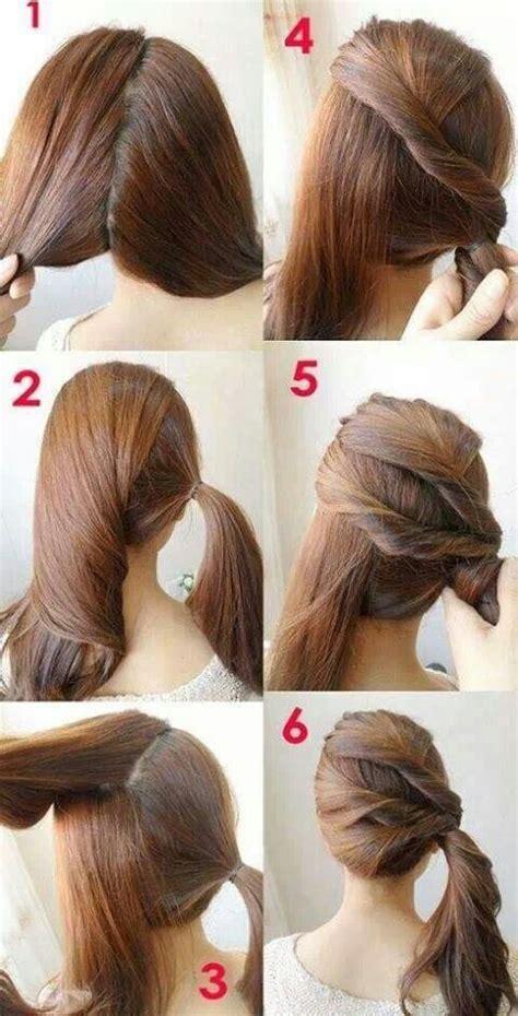 easy step  step hair tutorials  beginners pretty