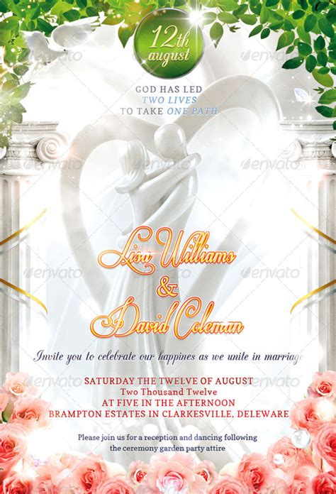 Invitation Cards Templates Free Psd by Second Marriage Wedding Invitation 16 Psd Jpg Indesign