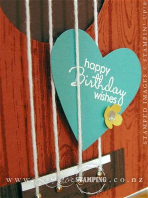 Ukulele Birthday Card Creative Sting Kristine Mcnickle Independent