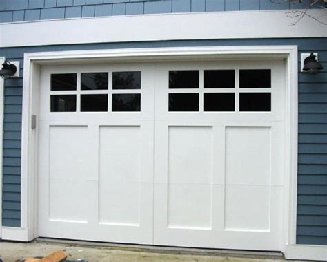 craftsman garage door made custom wood garage doors and real carriage house