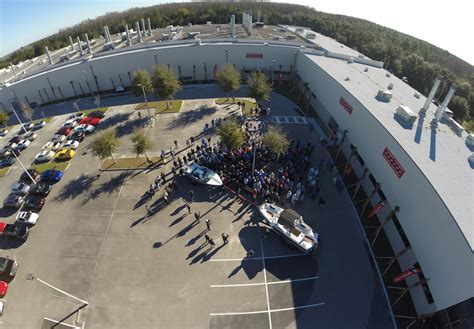nautique boats factory tour nautique celebrates completion of state of the art