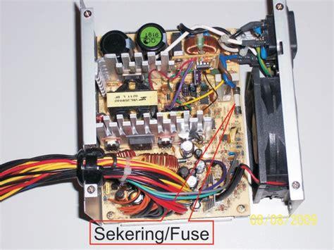 Papan Pcb Poweer Suplay 3psh my cara memperbaiki power supply unit psu komputer