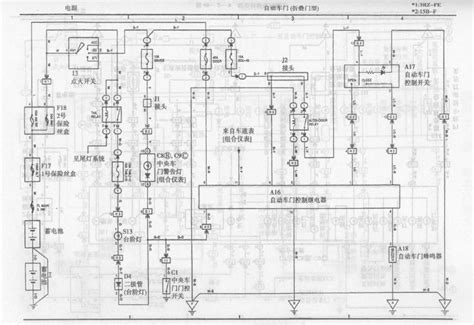toyota coaster automatic door circuit diagram 555