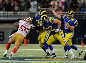 what channel is the st louis rams on today st louis rams san francisco 49ers preview time
