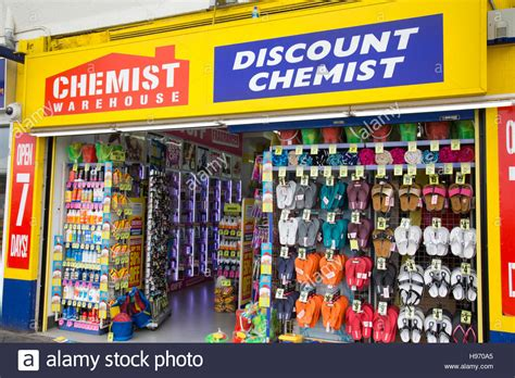 gurfateh warehouse sydney australia chemist warehouse drugstore in sydney selling wear flip flops stock photo 126158429 alamy