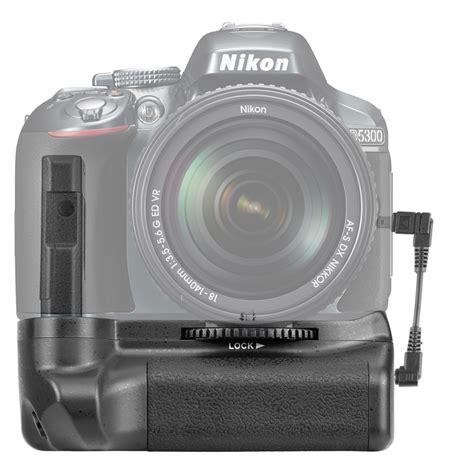 Bateri Kamera Nikon D5100 neewer batteriegriff akkugriffe battery grip f 252 r nikon