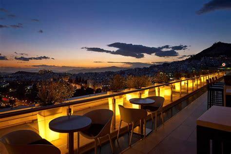 top  roof garden bars  athens greekacom blog