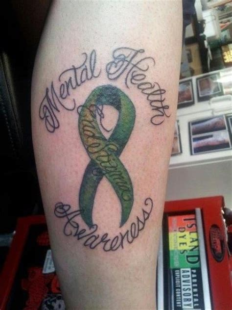 mental health awareness tattoo mental health awareness