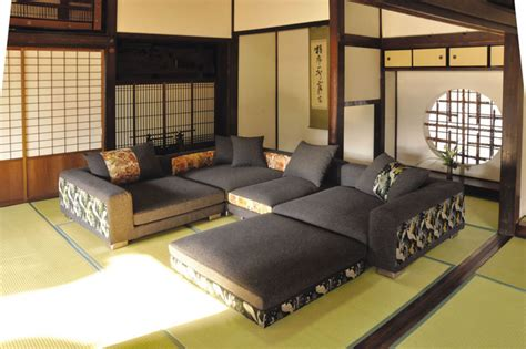 Simple Livingroom by Japanese Furniture Asian Living Room Other Metro