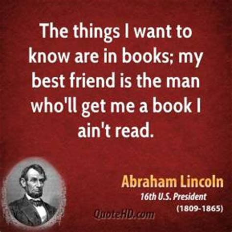 they knew lincoln books abraham lincoln quotes about books quotesgram