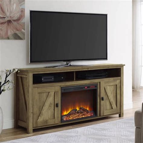 country style electric fireplace farmington electric fireplace tv console for tvs