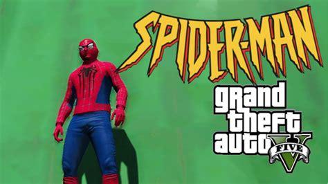 mod gta 5 spiderman spiderman suit gta5 mods com
