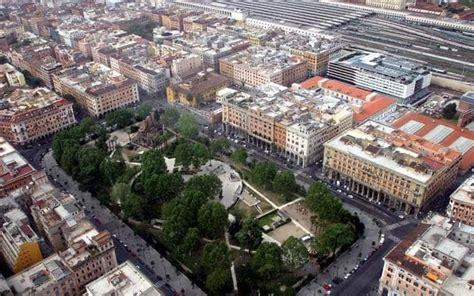 giardini piazza vittorio roma piazza vittorio pronta a rinascere quot con 1200 nuove piante