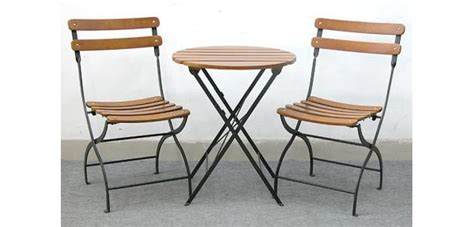 lowes bistro table set lowe s bistro set recalled because of fall hazard