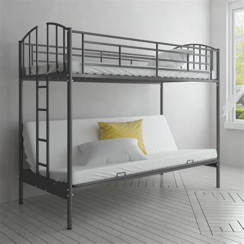 futon bunk bed frame vidaxl co uk children s futon bunk bed frame
