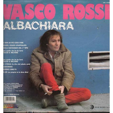 alba chiara vasco albachiara by vasco lp with e record ref 117017043