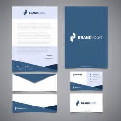 corporate templates free corporate identity elements vector free