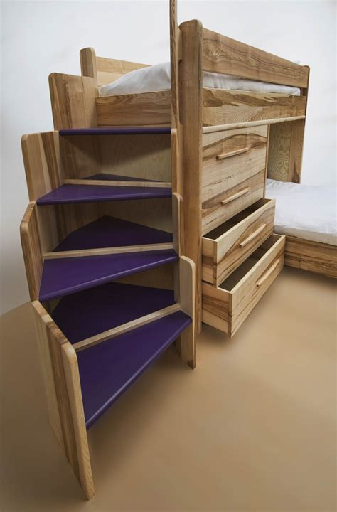 Bespoke Bunk Beds Bespoke Bunk Beds In Ash By Furniture Designer Daniel At Makers Eye Makers Eye