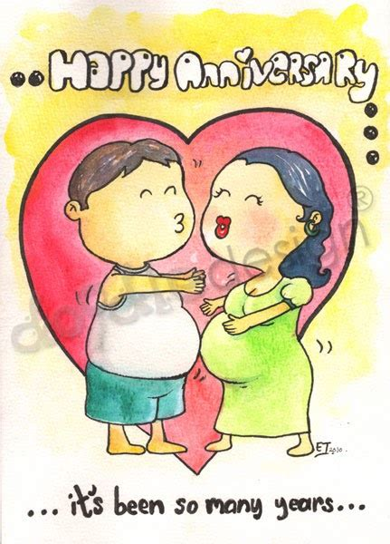 50 yr wedding anniversary doodledesign a belly funny wedding anniversary card