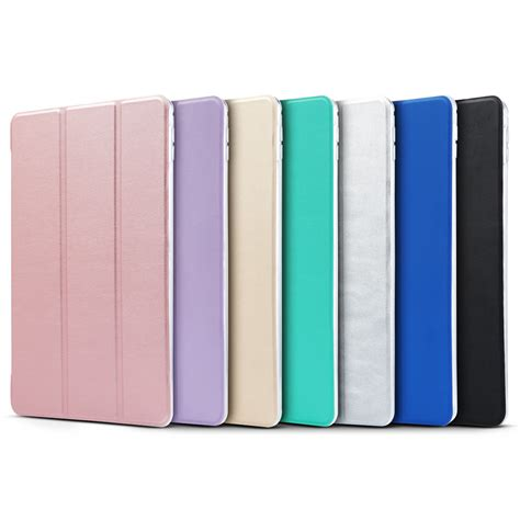 Cover Air 2 ultra slim magnetic leather smart cover stand for