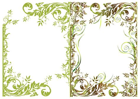 decorative border download decorative flower page borders