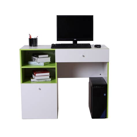 Computer Desk Executive Workstation Modern Writing Wooden Executive Desk With Computer Storage