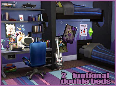 Big Lots Kitchen Furniture cool blue kids room by waterwoman at akisima 187 sims 4 updates