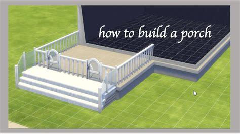 build  porch  sims  youtube