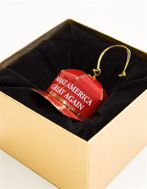 donald trump ornament collectible ornament trump make america great again