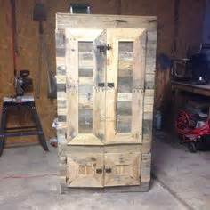 pallet wood gun cabinet plans gun cabinet made from pallets could use chicken wire on
