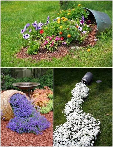 Urn Planters Cheap by Outdoor Amazing Flower Bed Ideas Easy Flower Beds Front