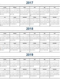 Kalender 2017 And 2018 Printable Calendar 2017 171 Home Weekly