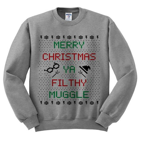 Sweater Muggle filthy muggle crewneck sweater sweater