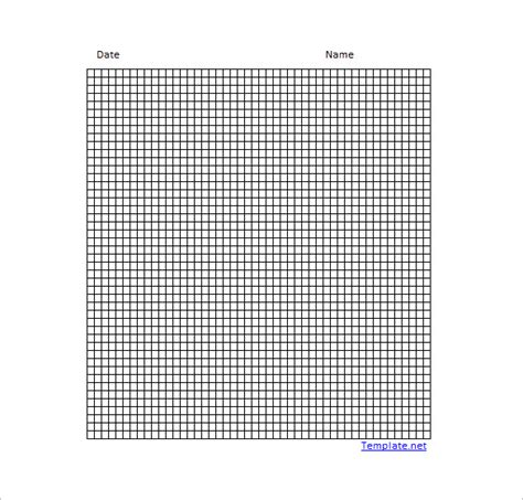 Make Graph Paper In Excel - common worksheets 187 math grid paper template preschool