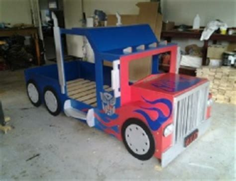 optimus prime bed transformers bespoke by baker the home of handmade
