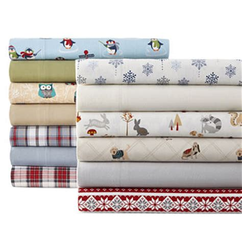 jcpenney bed sheets jcpenney home flannel sheet set jcpenney