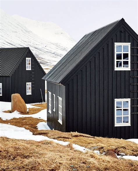 black painted house 17 best images about black house red roof white windows on pinterest iceland