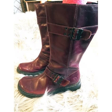 wine colored boots 31 dr martens shoes doc martens wine colored milly