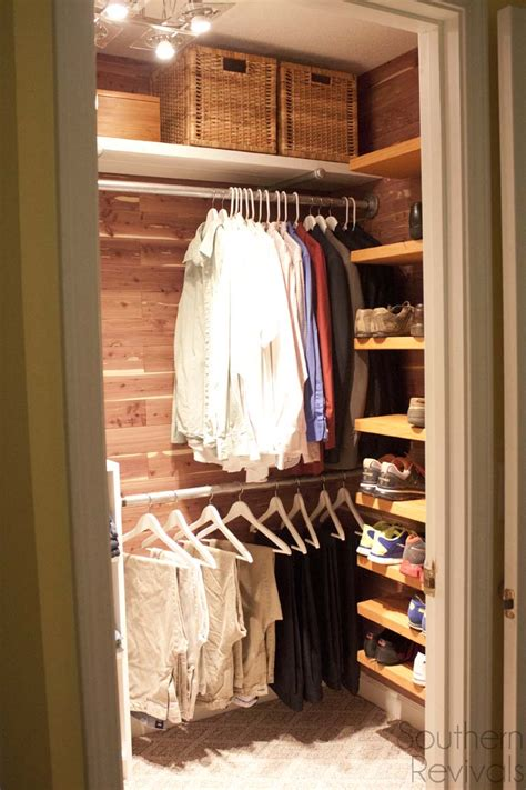 closet makeovers man closet makeover southern revivals