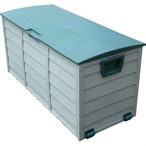 backyard storage box trademark tools heavy duty outdoor storage box 215155 patio storage at sportsman