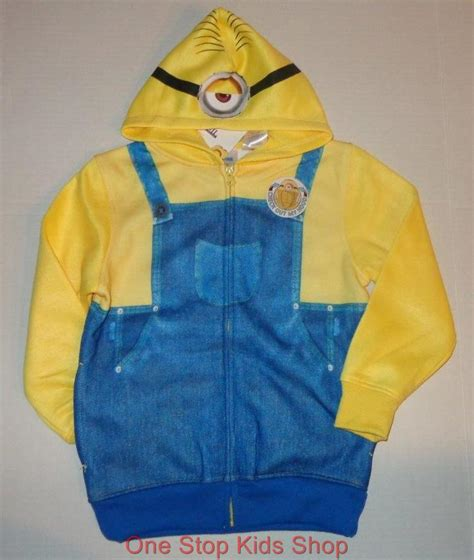 Minion 8 Sweater By Tukuostore despicable me 2t 3t 4t 6 7 8 10 costume sweatshirt hoodie