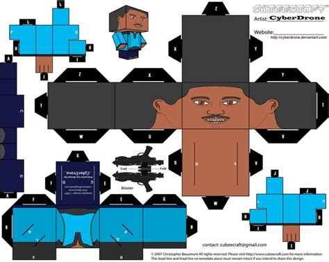 Wars Paper Craft - wars custom cubeecraft templates by cyberdrone on
