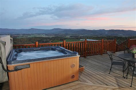 Luray Cabins Tub by Marks 7 Years For A Popular Luray Virginia Log