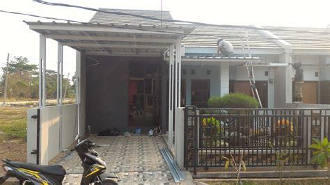 Paket Kanopi Baja Ringan Atap Alderon Ukuran 25 M2 harga atap canopy baja ringan pemasangan kanopi baja