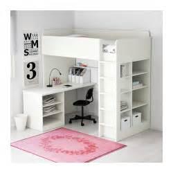 Ikea White Bunk Bed Stuva Loft Bed Combo W 2 Shlvs 3 Shlvs White 207x99x193 Cm Ikea