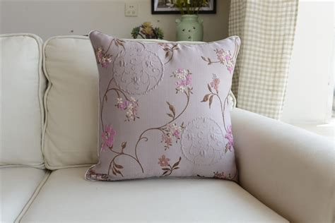 shabby chic cushions uk shabby chic country cottage floral purple sofa