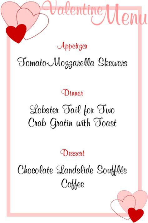 valentines day menu recipesbnb